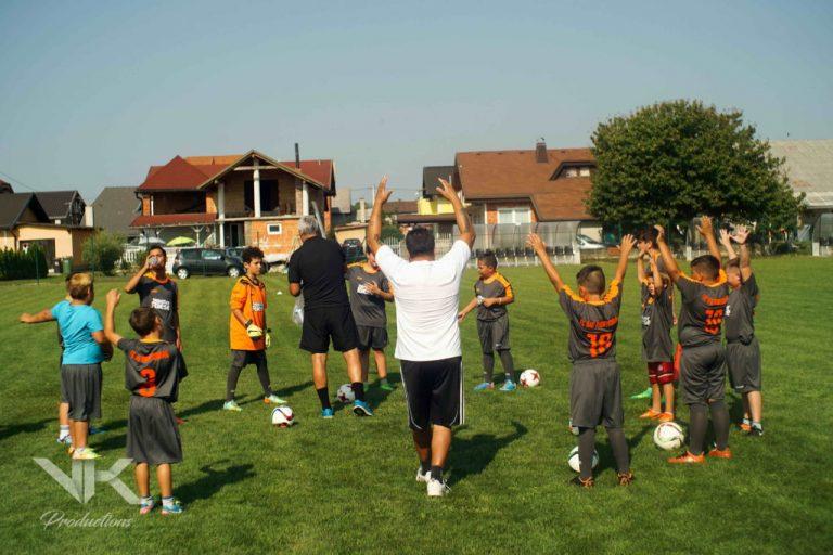 Nogometni tabor Marinka Šarkezija