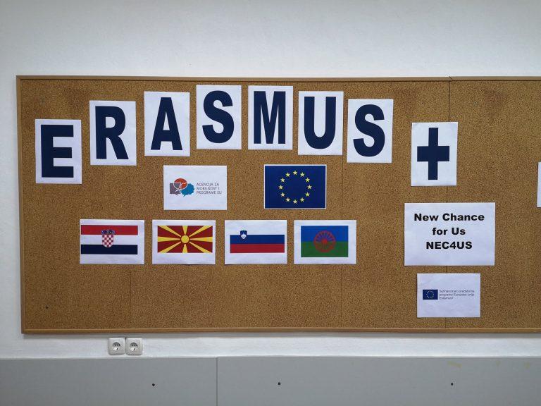 V letu 2021 z novim Erasmus+ projektom