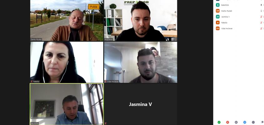 Spletni koordinacijski sestanek