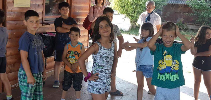 Romski tabor v Kamencih